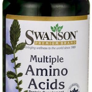 Swanson Premium Multiple Amino Acids 500 mg / 250 Caps
