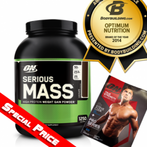 ON-OPTIMUM Serious Mass Weight Gainer 12 Lbs
