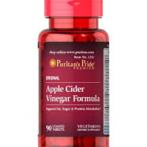 Puritan's Pride Apple Cider Vinegar Complex Formula / 90 Tablets