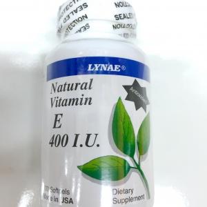 Lynae Natural Vitamin E 400 I.U. 90 เม็ด ขนาด 3 เดือน