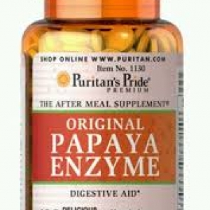 Puritan's Pride Papaya Enzyme / 100 Chewables