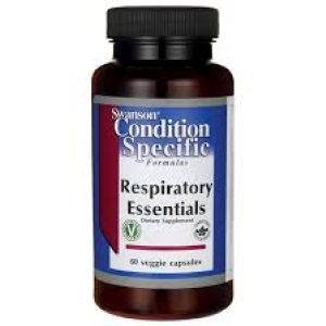Swanson Condition Specific Formulas Respiratory Essentials / 60 Veg Caps