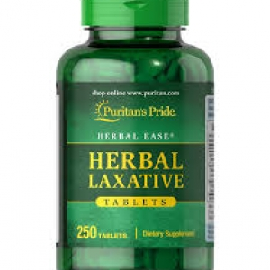 Puritan's Pride Herbal Laxative / 250 Tablets