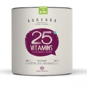 "Asayaka 25VITAMINS Original Ver.(3x) V4 Stem Cells Technology (Germany) (1 BOX) นวัตกรรมการดูแลสุขภาพด้วย ""วิตามินสด"" Anti-Agingแท้ๆ พร้อมเฝ้า-ตรวจวัดสุขภาพจาก Lab (ทั่วประเทศ) ฟรี!"