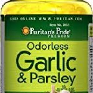 Puritan's Pride Odorless Garlic & Parsley 500 mg / 100 mg-250 Softgels