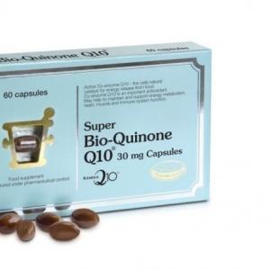 Bio-Quinone Q10 ขนาด 30 มิลลิกรัม 60 cap. PharmaNord ( ฟาร์มานอร์ด Pharma Nord )