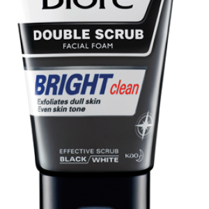 Men's Biore Double Scrub Bright Clean เมนส์บิโอเร ดับเบิ้ล สครับ ไบร์ท คลีน