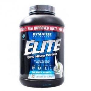 DYMATIZE Elite Whey Protein ( 2 lb) รสวานิลลา