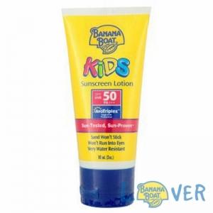 โลชั่นกันแดดสำหรับเด็ก Banana Boat Kids Ultra Sunscreen Lotion SPF50 PA+++ 90 ml
