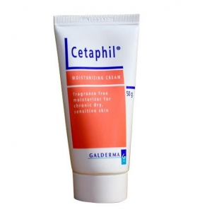 Cetaphil Moisturizing Cream เซตาฟิล มอยส์เจอร์ไรซิ่งครีม เป็นครีมบำรุงและปกป้องผิว สำหรับผิวที่บอบบาง ผิวแห้งและแพ้ง่าย หรือผิวหนังอักเสบ ขนาดปกติ 50กรัม