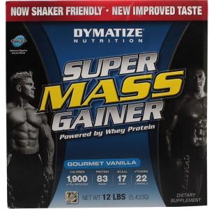 DYMATIZE Super Mass Gainer Vanilla (12lb)