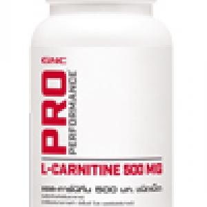 GNC L-Carnitine 500 mg แอล-คาร์นิทีน 500 มก. ชนิดเม็ด 60