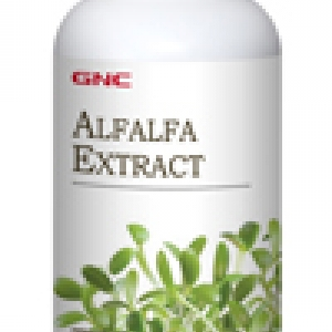 GNC Alfalfa Extract สารสกัดจากอัลฟัลฟาชนิดเม็ด 90 Tablets Code: 005867 เลขทะเบียน อย. 10-3-02940-1-0095