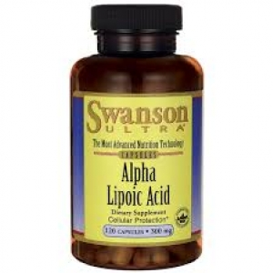 Swanson Ultra Alpha Lipoic Acid 300 mg / 120 Caps