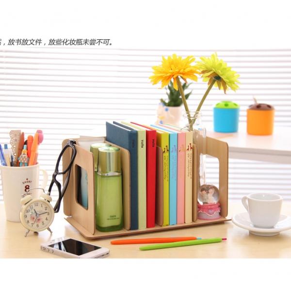 รูปภาพสินค้า ที่วางหนังสือไม้แบบสั้น