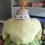 """Hanbok ผ้าไหมพรีเมี่ยม สีเหลืองตัดเขียวใบไม้ อก 34"""" สูง 160 thumbnail 8"""