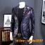 JM6102013 เสื้อสูทลำลองผู้ชายเสื้อสูทงานเลี้ยงพิมพ์ลายแบบตะวันตก thumbnail 1