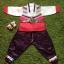 Hanbok Boy ฮันบกผ้าไหมชาววัง สำหรับเด็กชาย 3ขวบ thumbnail 1