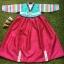 Hanbok Girl ฮันบกผ้าไหมสีสดใส สำหรับเด็ก 7 ขวบ thumbnail 1