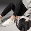 JW6101002 กางเกงยีนส์เดปเข้ารูปกางเกงฮาเล็มเอวยางผูกโบว์เวอร์ชั่นสาวเกาหลี thumbnail 2