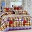 ผ้าปูที่นอนราคาถูก ขนาด 5 ฟุต(5 ชิ้น)[GB-102] thumbnail 1