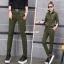 HW6107010 กางเกงขายาวทหารหญิงสีเขียวกองทัพทหาร แฟชั่นเกาหลี (พรีออเดอร์) รอ 3 อาทิตย์หลังโอนเงิน thumbnail 2