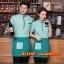 F6012013 เสื้อพนักงานต้อนรับ เสื้อพนักงานโรงแรม เสื้อฟอร์มพนักงาน ชุดฟอร์มพนักงาน thumbnail 2