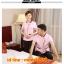 D6103001 สื้อพนักงานทำความสะอาด เสื้อแม่บ้าน เสื้อแม่บ้านโรงแรมรีสอร์ท L-3XL thumbnail 3