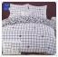 ผ้าปูที่นอนสไตล์โมเดิร์น เกรด A ขนาด 3.5 ฟุต(3 ชิ้น)[AS-317] thumbnail 1