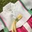 Hanbok Girl ฮันบกผ้าไหมสีหวาน สำหรับเด็ก 5 ขวบ thumbnail 2
