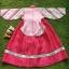 Hanbok Girl ชาววังสีชมพูแขนสลับ สำหรับเด็ก 5 ขวบ thumbnail 3