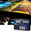HUD ระบบ GPS อุปกรณ์แสดงความเร็ว บนกระจก ปลอดภัย ล้ำหน้า ใช้ง่ายแค่เสียบกับที่จุด บุหรี่ thumbnail 4