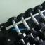 ชุดดัมเบล MAXXFiT ทรง 12 เหลี่ยม ขนาด 5 - 50 LBS. (10 คู่) พร้อมชั้นวาง 3 ชั้น สีดำ thumbnail 4
