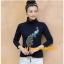 UM6102019 เสื้อยืดแขนยาวโมฮีเมียน เย็บปักถักร้อยชาติพันธุ์ thumbnail 2