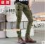 HW6107007 กางเกงขายาวทหารหญิงสีเขียวกองทัพทหาร แฟชั่นเกาหลี (พรีออเดอร์) รอ 3 อาทิตย์หลังโอนเงิน thumbnail 1