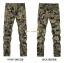 HW6107004 กางเกงทหารหญิงทรงหลวมสีเขียวกองทัพ(พรีออเดอร์) รอ 3 อาทิตย์หลังโอนเงิน thumbnail 3