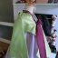 "Hanbok เด็ก 11 ขวบ สีเขียวม่วง อก 36"" สูง 135-145 thumbnail 4"