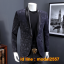 JM6102014 เสื้อสูทลำลองผู้ชายเสื้อสูทงานเลี้ยงพิมพ์ลายแบบตะวันตก thumbnail 3