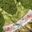 Hanbok Girl ฮันบกผ้าไหมสีเขียว สำหรับเด็ก 6 ขวบ thumbnail 8