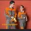 M6106007 ชุดฟอร์มพนักงานช่างวิศวกรรมช่างไฟฟ้าอุตาสาหกรรม ช่างก่อสร้างแขนยาว thumbnail 3