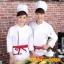 C6103003 เสื้อเชฟ เสื้อพ่อครัว เสื้อแม่ครัว เสื้อพนักงานทำอาหาร เสื้อกุ๊ก M-3XL thumbnail 1