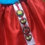Hanbok Girl ฮันบกผ้าไหมอย่างดีสีฟ้าสดใส สำหรับเด็ก 3 ขวบ thumbnail 6
