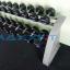 ชุดดัมเบล MAXXFiT ทรง 12 เหลี่ยม ขนาด 2.5 - 25 KG. (10 คู่) พร้อมชั้นวาง 2 ชั้น 10 คู่ สีเทา thumbnail 7