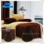 ผ้าปูที่นอนสีพื้น เกรด A สีน้ำตาลเข้ม ขนาด 5 ฟุต 5 ชิ้น thumbnail 1