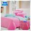 ผ้าปูที่นอนสีพื้น เกรด A สีชมพูเข้ม ขนาด 3.5 ฟุต 3 ชิ้น thumbnail 1