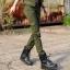 HW6107006 กางเกงขายาวทหารหญิงสีเขียวกองทัพทหาร แฟชั่นเกาหลี (พรีออเดอร์) รอ 3 อาทิตย์หลังโอนเงิน thumbnail 2