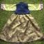 Hanbok Girl ฮันบกผ้าไหมสีเขียว สำหรับเด็ก 6 ขวบ thumbnail 4