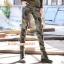 HW6107004 กางเกงทหารหญิงทรงหลวมสีเขียวกองทัพ(พรีออเดอร์) รอ 3 อาทิตย์หลังโอนเงิน thumbnail 2