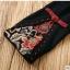 UM6102013 เสื้อยืดแขนยาวโมฮีเมียนสีดำ เย็บปักถักร้อยชาติพันธุ์ thumbnail 3