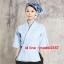 F6101008 ชุดผ้าฝ้ายซูชิกิโมโนสไตร์ญี่ปุ่น สำหรับห้องอาหารญี่ปุ่นเกาหลี เสื้อพนักงานต้อนรับ thumbnail 3